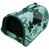 HILTON Torba transportowa Niebieska kwiaty 43x24x26cm dla kota/psa