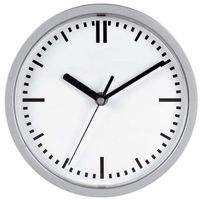 Unilux zegar attraction, srebrny