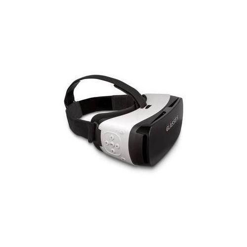 Gogle do wirtualnej rzeczywistości Forever VRB-300 s tlačítkem (VRB-300) Biała
