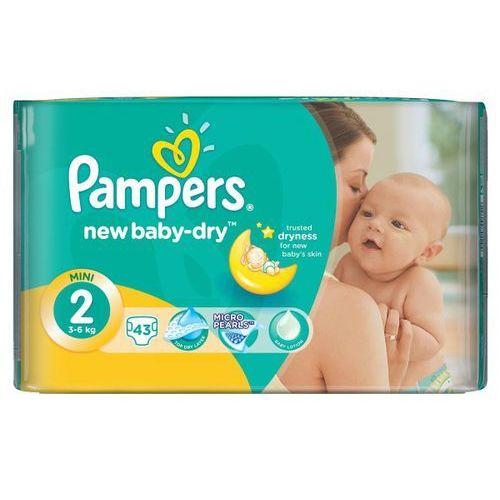 PAMPERS New Baby-dry pieluchy 2 Mini 43szt pieluszki