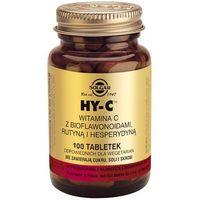 Tabletki SOLGAR HY-C Wit. C z bioflawonoidami tabl. - 100 tabl.