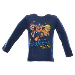 Bluzka dla dzieci z bohaterami bajki Psi Patrol - Granatowy