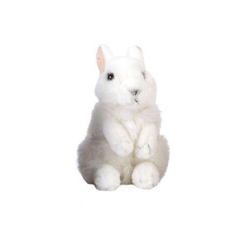 Maskotka dziki Królik Nature De Brenne 18 cm pluszowa biała