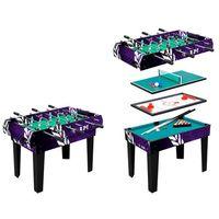Stół do gry piłkarzyki, hokej, bilard WORKER 4w1