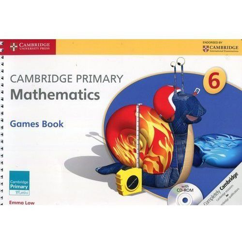 Cambridge Primary Mathematics Games Book with CD - Emma Low, Cambridge University Press