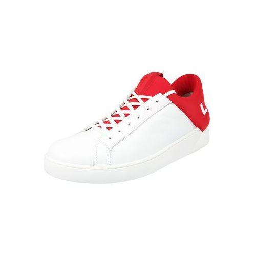 LEVI'S Trampki niskie 'Mullet' jasnoczerwony / biały (7613369952847)