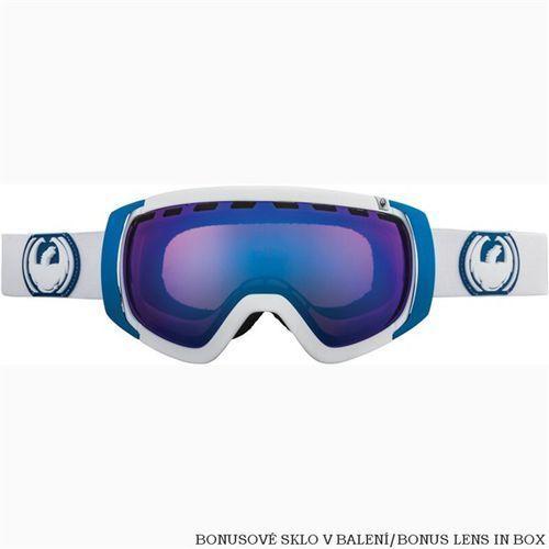 Gogle DRAGON - Rogue White Blue Steel + Yellow Blue Ionized (WHITE) rozmiar: OS