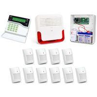 Alarm  ca-10 lcd, 6xgraphite pet, 4xgrey plus, syg. zew. sd-6000 marki Satel