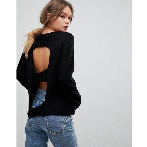 H.One Light Wool Blend Knit Jumper - Black, w 3 rozmiarach