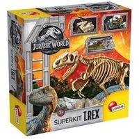 Lisciani Zestaw edukacyjny jurassic world super zestaw t-rex +darmowa dostawa przy płatności kup z twisto