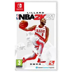 Gra Nintendo Switch NBA 2K21, KGNSNBA2K21