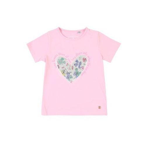 Tom tailor koszulka różowy pudrowy (4060463569960)