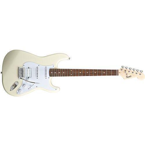 Fender squier bullet stratocaster hss laurel fingerboard, arctic white gitara elektryczna