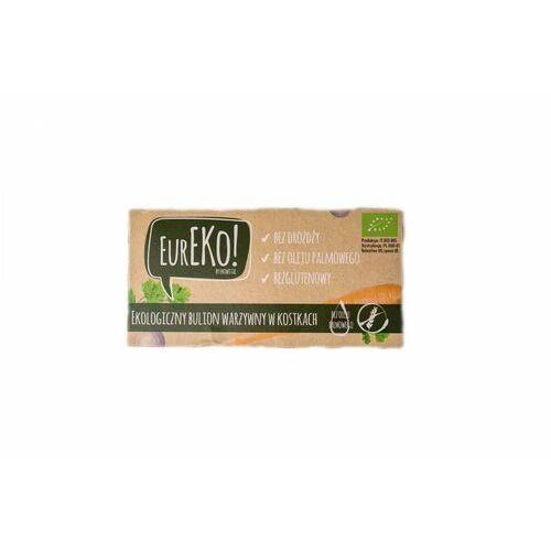 Bulion warzywny w kostkach bez drożdży bez oleju palmowego bezglutenowy bio 100 g Eureko - Bardzo popularne