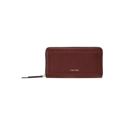 Calvin Klein CONTEMPORARY LARGE ZIPAROUND Portfel red, K60K603816
