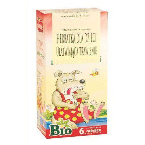 Apotheke (herbatki dla dzieci, dorosłych, błonnik Herbata dla dzieci na trawienie bio 20x1,5g apotheke