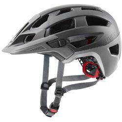 Uvex finale 2.0 kask rowerowy, grey mat 52-57cm 2020 kaski rowerowe