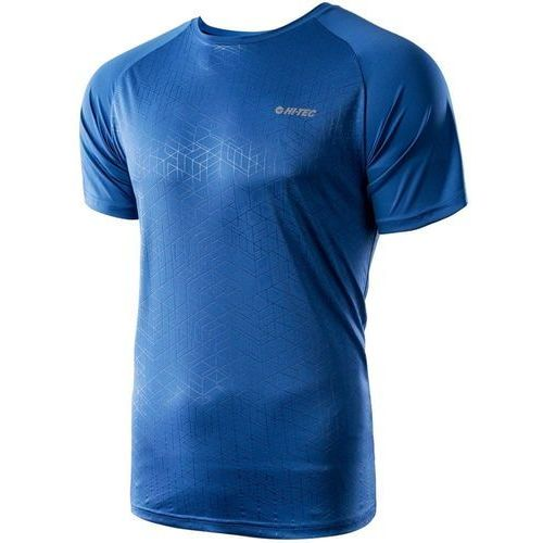 Hi-tec męska koszulka deran victoria blue navy geometric print xxl