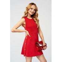 Sukienka Fav w kolorze czerwonym