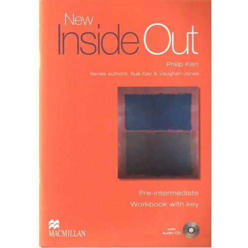 New Inside Out Pre-Intermediate Workbook (zeszyt ćwiczeń) with Key and Audio CD, Philip Kerr
