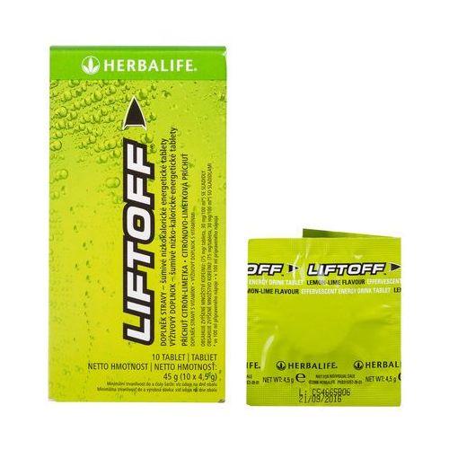Herbalife liftoff 10 tabletek x 4,5-g cytryna / limetka