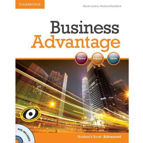 Business Advantage Advanced Student's Book (podręcznik) with DVD, Cambridge University Press