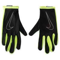 Rękawiczki Męskie NIKE - NRGD1023 Czarny Zielony