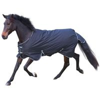 derka dla konia rugbe 200, czarna, 135 cm, 326128 marki Kerbl