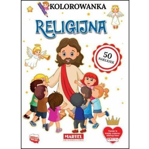 Kolorowanka z naklejkami religijna marki Praca zbiorowa