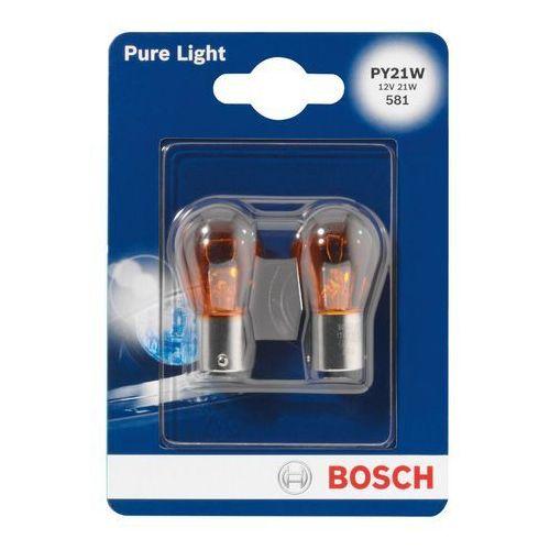 Obi Bosch żarówka samochodowa py21 w 2 stck. (5903346943237)