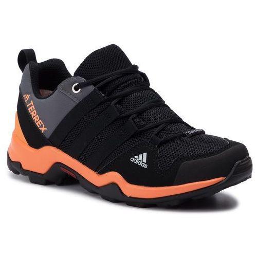 Buty adidas - Terrex Ax2r Cp K AC7984 Cblack/Cblack/Chireor, kolor czarny