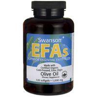 Swanson Oliwa z oliwek 1000mg 120 kaps.
