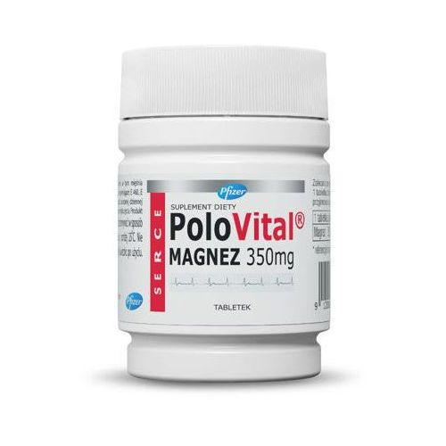 Tabletki Polovital Magnez 350mg x 60 tabletek