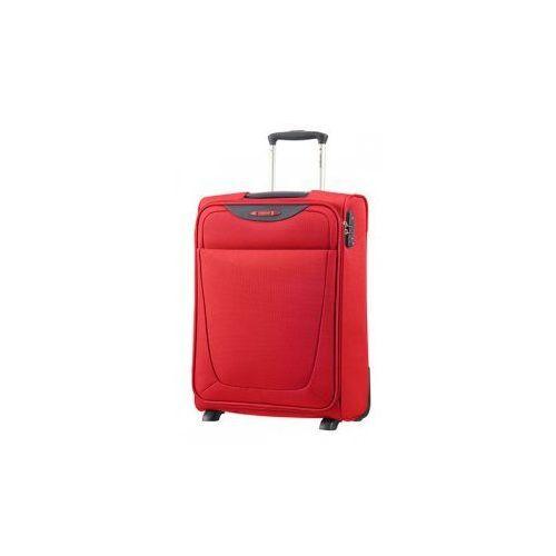 Samsonite mała/ kabinowa walizka z kolekcji base hits 2 koła zamek szyfrowy z systemem tsa materiał poliester