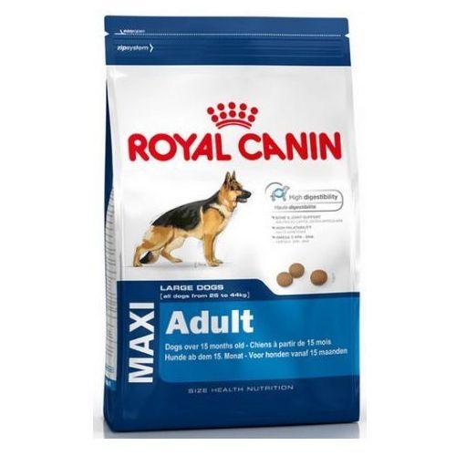 Royal canin size Duże opakowanie + rolka do czyszczenia gratis! - maxi adult, 15 kg| darmowa dostawa od 89 zł i super promocje od zooplus! (3182550401937)