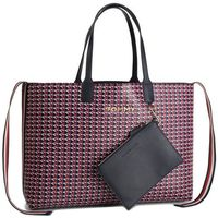 Torebka TOMMY HILFIGER - Iconic Tommy Tote Mono AW0AW06911 903