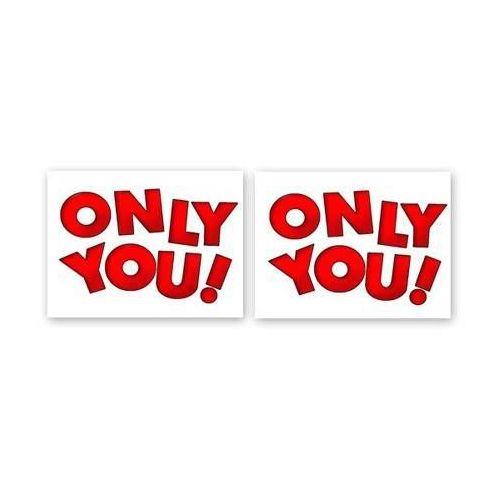 Naklejki na buty Only You! - 2 szt. (5907509920189)