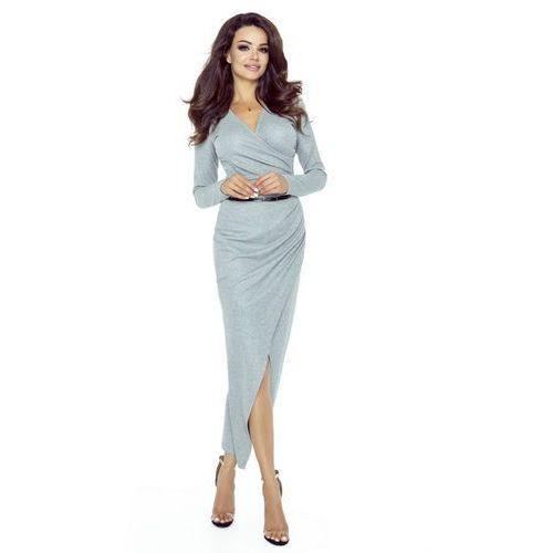 Sukienka maxi z kopertowym założeniem, M50181_1_s