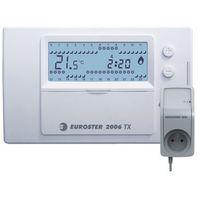 Euroster Programowany, bezprzewodowy, regulator temperatury 2006txrxg z gniazdem
