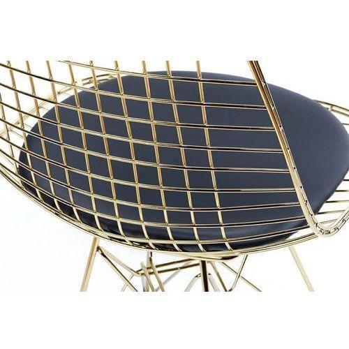 Krzesło DSR NET GOLD MC-021M.BLACK - King Home - Sprawdź kupon rabatowy w koszyku (5900168816480)