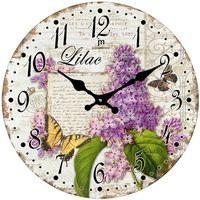 Lowell Designowy zegar ścienny 14854 (8008457147349)