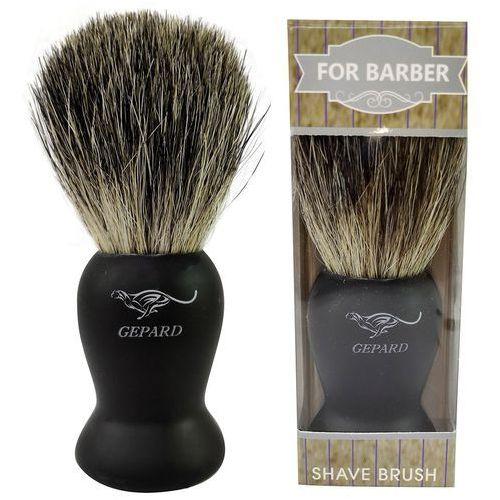Pędzel do golenia z włosiem borsuka 100% etui p03 Gepard - Godna uwagi obniżka