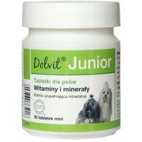 DOLFOS Dolvit Junior MINI - preparat mineralno - witaminowy dla szczeniąt i młodych psów 90tab. (5906764765016)