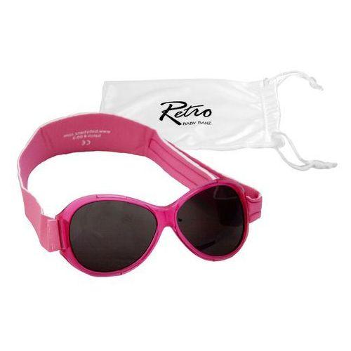 Banz Okulary przeciwsłoneczne dzieci 0-2lat retro - pink