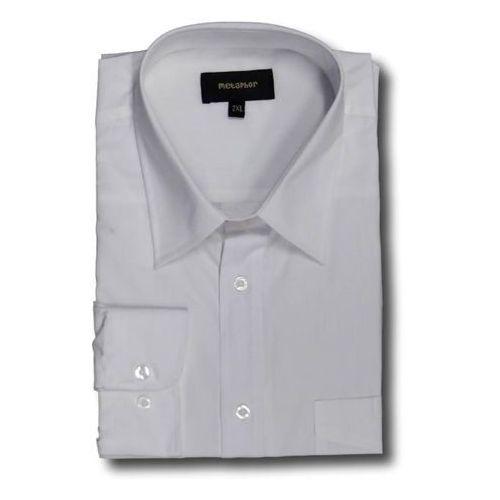 Koszula wizytowa z długim rękawem biała