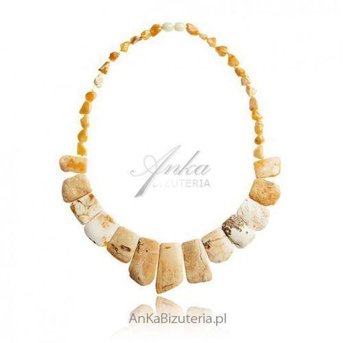 ankabizuteria.pl Naszyjnik z żółtego bursztynu biżuteria z naturalnych bursztynów