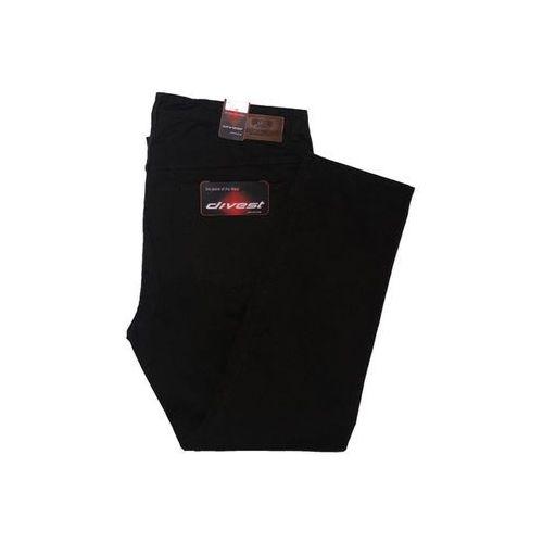 Divest spodnie długie materiałowe oliwkowe Model 582 112/33 Oliwkowy Bawełna / Lycra, bawełna