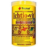 Tropical ichtio-vit w płatkach - pokarm podstawowy w płatkach dla rybek 1000ml/200g (5900469770061)