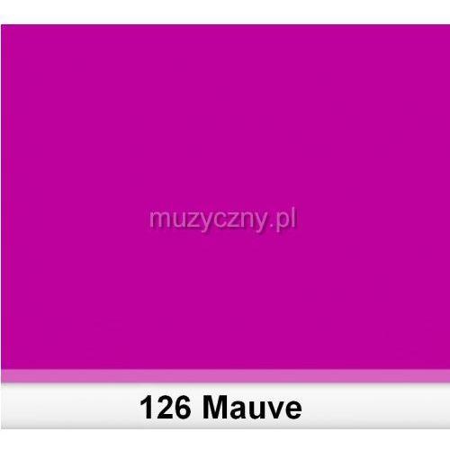 Lee 126 Mauve filtr barwny folia - arkusz 50 x 60 cm