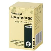 Lipancrea 8.000 j. x 20 kaps (5909990869022)
